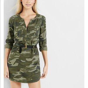 EXPRESS Edgy Camo Dress